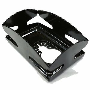 Qbit Sq1000 s lv Oscillating Multi Tool Saw Blade Cut Single Wall Plate