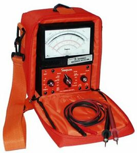 Simpson 260 9sp Industrial Safety Vom With Overload Protection