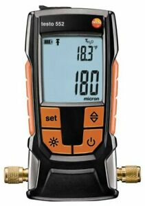 Testo 552 Digital Vacuum Micron Gauge With Bluetooth part Number 0560 5522