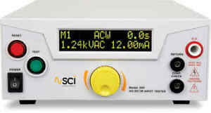 Sci slaughter 297 Ac dc Hipot With Insulation Resistance Testing