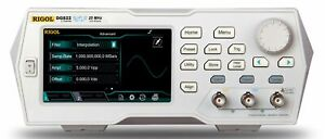 Rigol Dg822 25 Mhz Function Arbitrary Waveform Generator 2 Channel