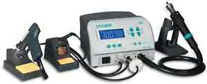 Quick 713a Three Channel Rework System With Soldering Hot Air And Vacuum