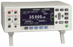 Hioki Rm3544 01 demo Precision Resistance Meter With Ext I o Interface