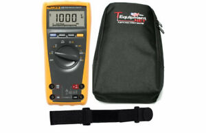 Fluke 175 Pro Te Digital Multimeter 6000 Count Dmm With Soft Case And Magnetic H