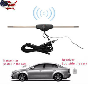 Car Interior Hidden Amplified Antenna Electronic Stereo Am fm Radio Universal Us