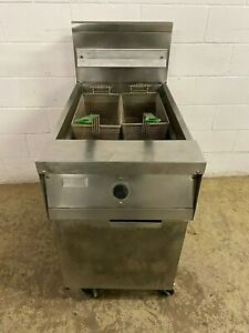Frymaster 60 Or 90 Pound Single Fryer Natural Gas