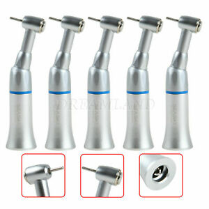 Lot Of Dental Low Speed Contra Angle Press Chuck Handpiece Fit Fg 1 60mm Burs
