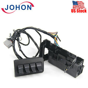 Auxiliary Dash Upfitter Switch For Ford F250 Super Duty 2011 2016 Al3z13d730aa