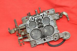 Carter Thernoquad 2357 Carburetor Base Plate Throttle Body Adapter 4bbl Carb