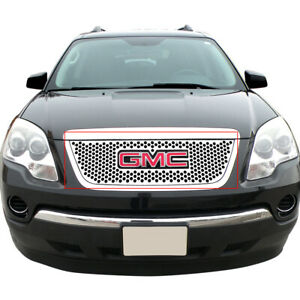 For 2007 2012 Gmc Acadia Stainless Steel Round Holes Lasser Cut Grille Sheet
