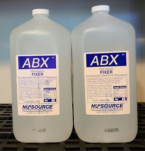 Fixer For Automatic Dental X ray Film Processors Premixed Abx Nusource 2 Gallon