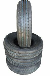 4 New Tires 235 85 16 Loadmaxx 14 Ply Trailer Steel Belted Radial St235 85r16 G1