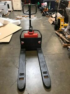 Noblelift Spte33x 2748 Semi electric Pallet Jack 3300 Lbs Capacity