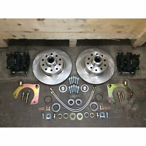 Mustang Ii 2 Ifs Front End 11 High Performance Disc Brake Conversion Kit 5x4 5