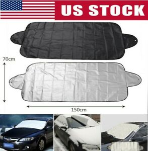 Windshield Cover Snow Ice For Car Frost Guard Winter Protector Auto Us Stock