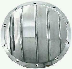 Rear End Differential Chrome Cover 8 5 10 Bolt Polished Aluminum Gm Truck Car