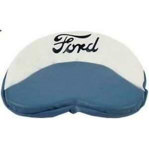 Tractor Seat Cushion For Ford Tractors blue White