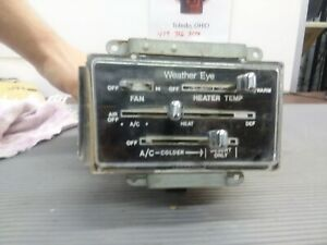 1971 1974 Amc Amx And Javelin Ac Air Condition Control And Heater