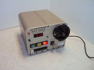 Dmc Alphatron Mpt200a Motorized Wire Crimp Pull Tester