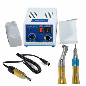 Dental Marathon Micromotor Electric Motor straight Contra Angle Handpiece A or