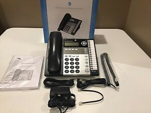 At t 1040 4 line Intercom Paging Small Business Office Phone