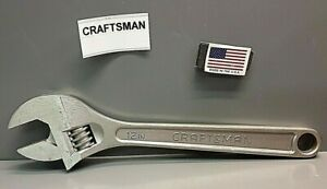 Craftsman 944605 12 Adjustable Wrench 44605 Made In Usa New Old Stock