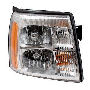 Passengers Hid Headlight Assembly For 03 06 Cadillac Escalade Esv