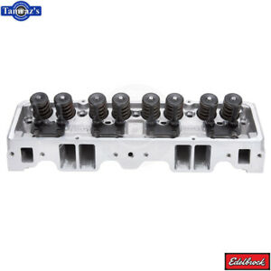 Performer Small Block Chevy Edelbrock Cylinder Head 64cc Hydraulic Flat Tappet
