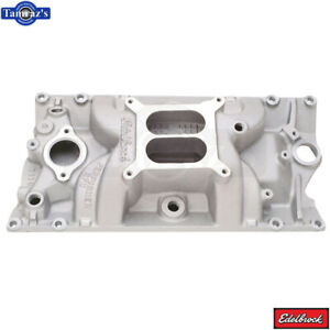 Performer Rpm Edelbrock Dual Plane Intake Manifold For Small Block Chevy Vortec