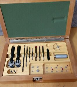 Renishaw Probe Tp2 5w In Wooden Box With Many Accessories