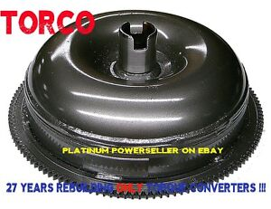 A727 High Stall Lockup Torque Converter 2200 2500 With 10 Bolt Circle Ring Gear