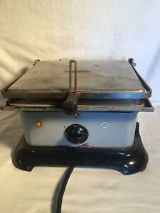 Vintage Star Quik serv Grill Model 29 Commercial Double Grill Panini Flat Bread