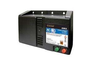 Zareba 50 Mile Ac Powered Low Impedance Electric Fence Charger Energizes Up