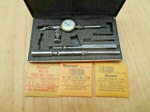 Starrett 711 Last Word Dial Indicator 0005 With New Contact Points