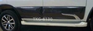 Body Cladding Chrome Black 209 Use For Toyota Fortuner 2015 2017