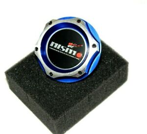 Jdm Nismo Racing Blue Engine Oil Filler Cap Oil Tank Cover Aluminium For Nissan