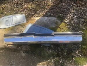 1981 87 Buick Regal Rear Bumper