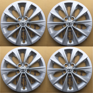 4 X 16 Silver Hubcaps Rim Wheel Covers For 2015 2018 Toyota Camry L Le