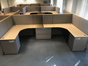 Allsteel 6 x6 Office Cubicles Workstations