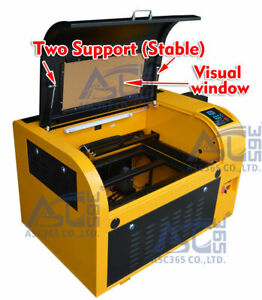60w Co2 Usb Laser Engraving Cutting Machine Engraver Cutter Red dot Position New