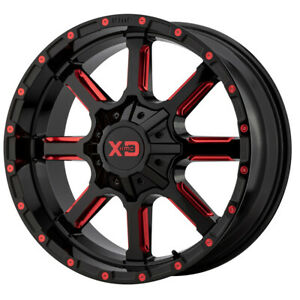 22 Xd Series Mammoth Black xd83822035918n Set Of 4 Wheels Rims