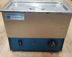 Electrowave Ultrasonic Commercial Cleaner Laboratory Heated Jewelry Ew 3th