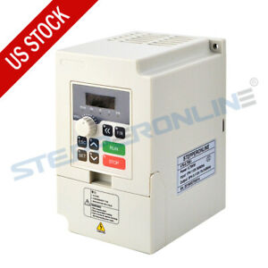 0 75kw 7a 110v 1hp Vfd Variable Frequency Drive Motor Inverter For Spindle Motor