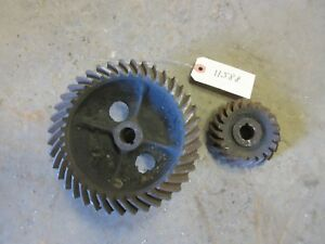 John Deere A A74r A170r Governor Gear Set Early Unstyled Open Fan A