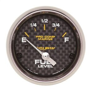 Autometer 200760 40 Fuel Level Gauge With Electric Air core 2 065