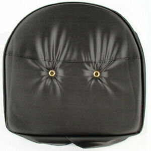 Black Tractor Pan Seat Cover Universal Ford Fits John Deere Massey Case