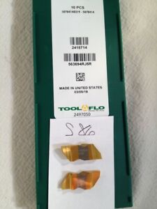 10 New Tool flo Ng 3094r Top Notch Carbide Inserts Grade Gp3r s86