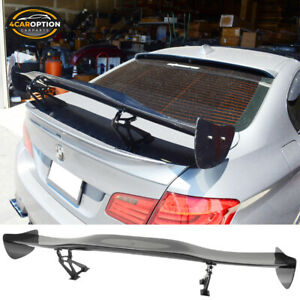 57 Inches Universal Fit 3d Carbon Fiber cf Racing Gt Rear Trunk Spoiler Wing