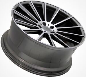 22 For Mercedes Benz S Coupe Staggered Wheels Rims Set 4