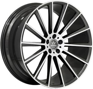 22 Mercedes Rims For S Class Coupe S550 S63 Staggered Concave Wheels Set 4
